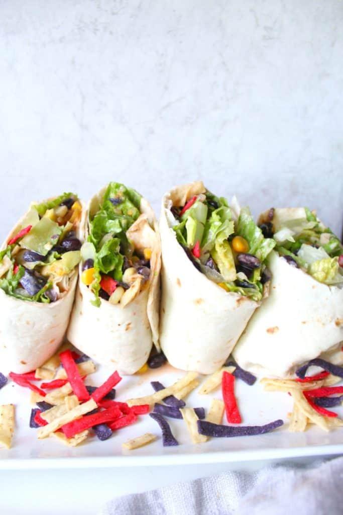 Southwest Veggie Wraps