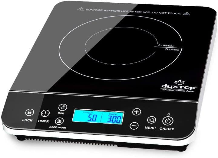 DUXTOP 9600LS PORTABLE INDUCTION COOKTOP WITH LCD SENSOR TOUCH