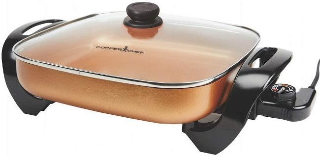 Copper Chef Electric Skillet