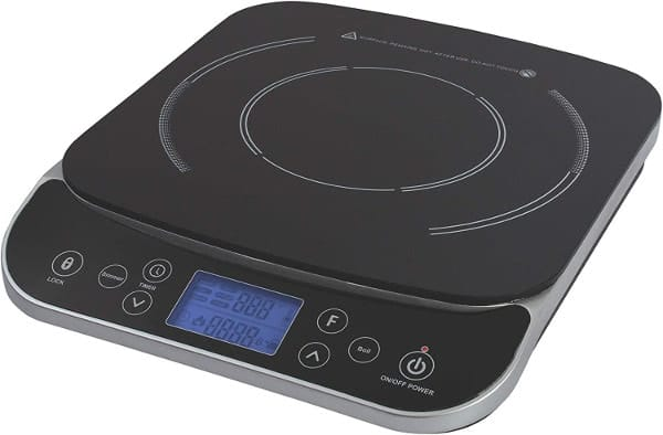 MAX BURTON LCD 1800 WATT INDUCTION COOKTOP COUNTER TOP BURNER