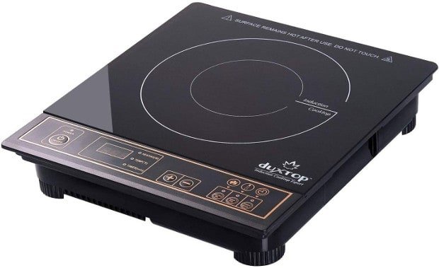 SECURA- DUXTOP 8100MC 1800W PORTABLE INDUCTION COOKTOP COUNTERTOP BURNER, GOLD