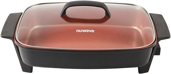 NUWAVE Medley X-Large Duralon Ceramic Non-Stick Digital Skillet