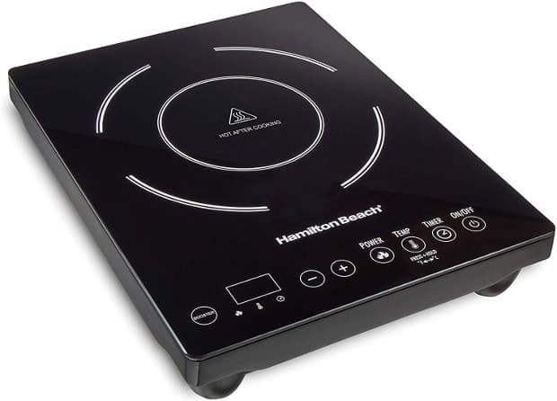 HAMILTON BEACH 34104 SINGLE INDUCTION 1800 WATT COOKTOP