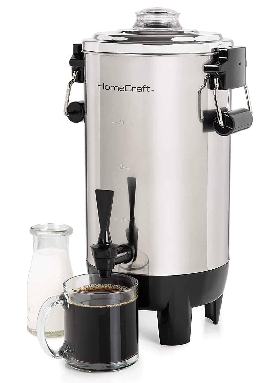 HomeCraft Quick Brewing Coffee Urn