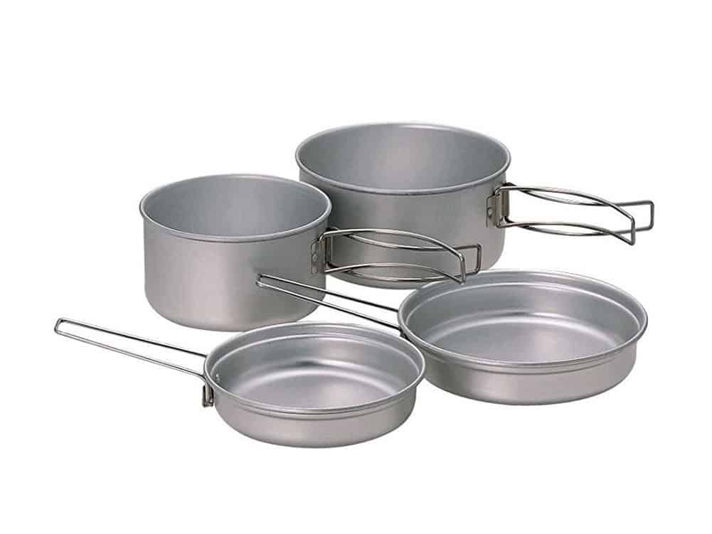 Snow Peak Titanium Cookware for Camping