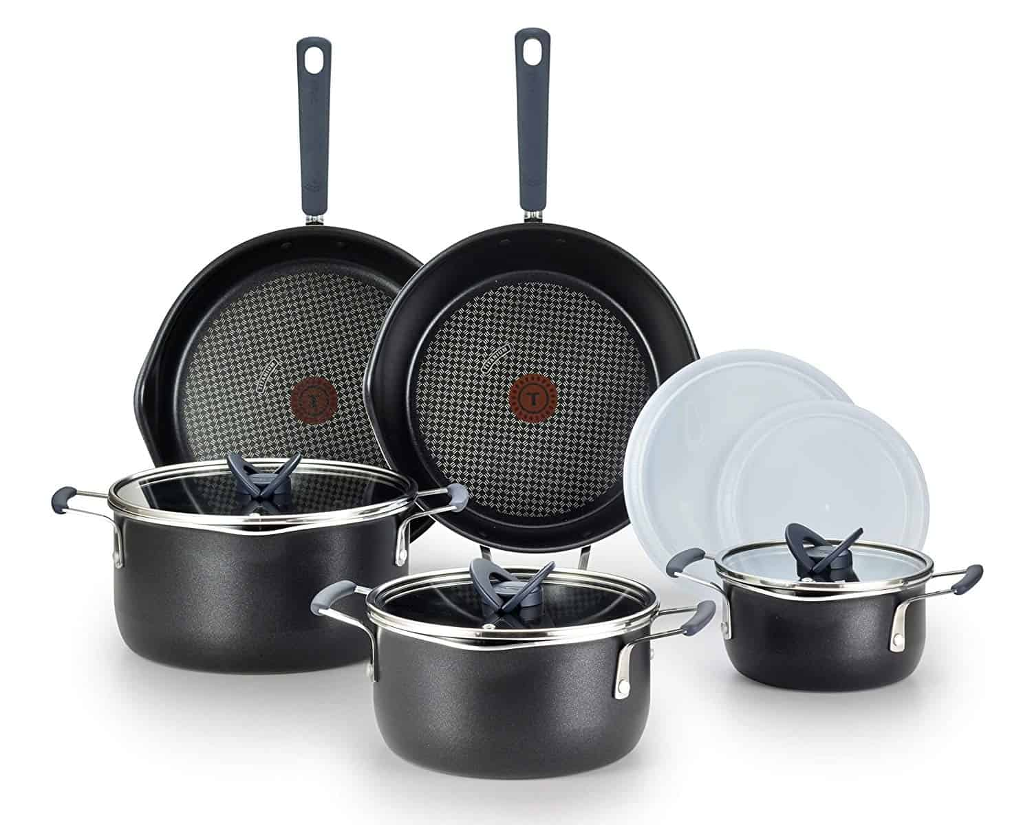 T-fal B210SA Stackable Titanium Cookware