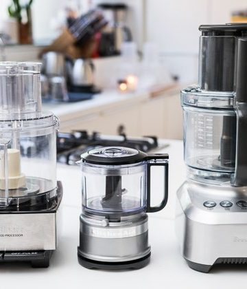 Three Food Processors