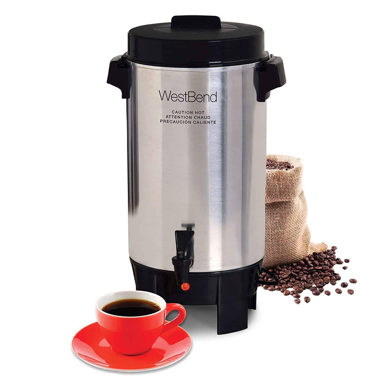 West Bend Aluminum Coffee Urn