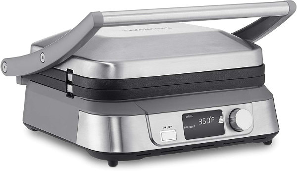 CUISINART GRILL AND PANINI PRESS GR-5B GRIDDLER