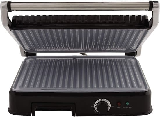 OSTER DURACERAMIC PANINI PRESS AND INDOOR GRILL