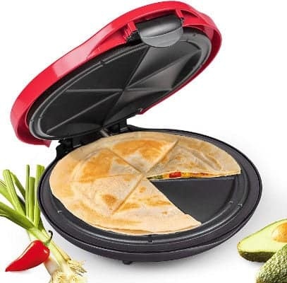 NOSTALGIA Electric Deluxe Quesadilla Maker