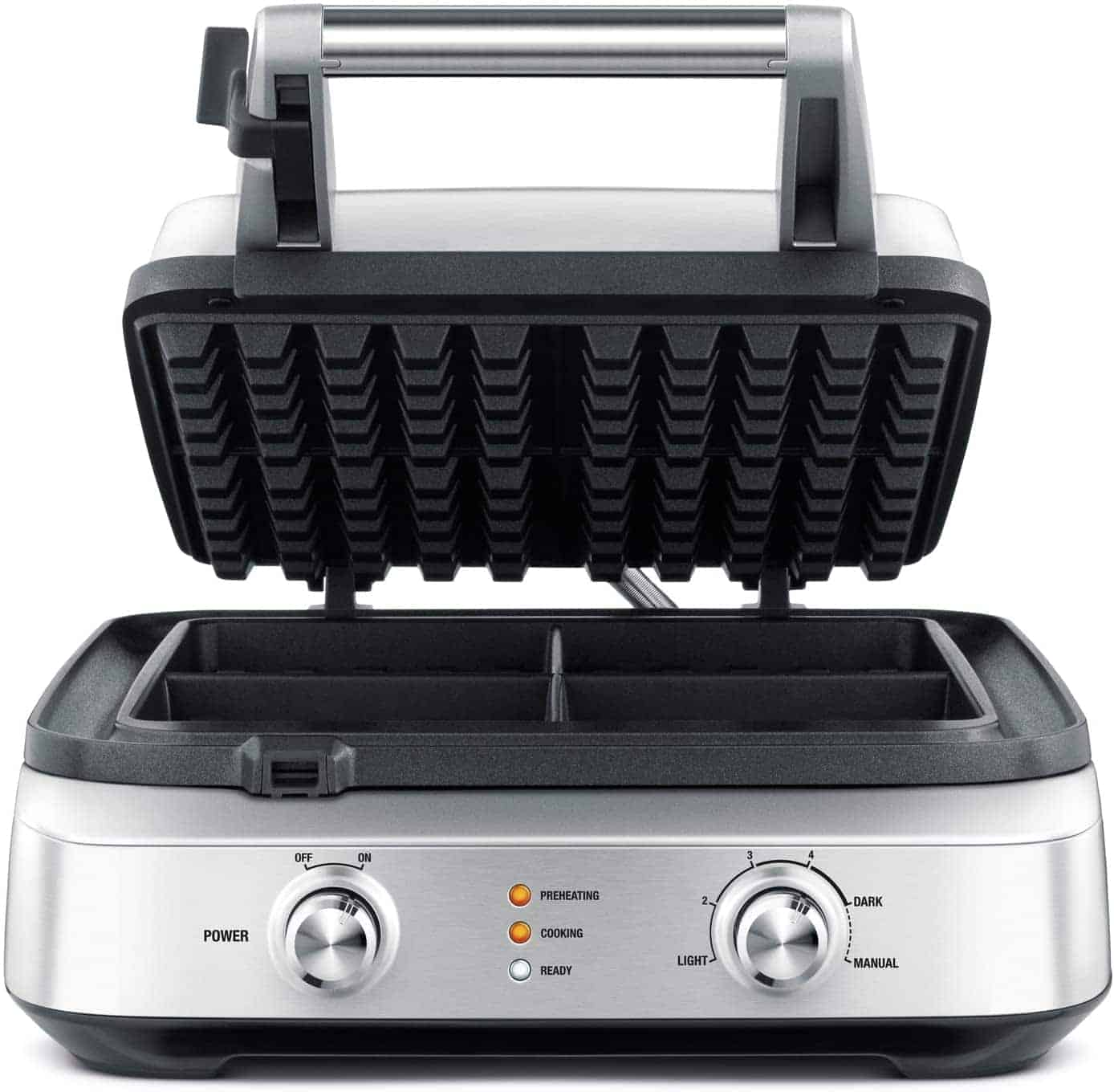 Breville BWM604BSS Waffle Brushed Stainless Steel Iron
