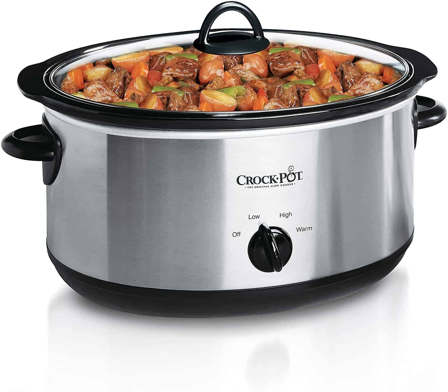 Crock-Pot Manual Slow Cooker in Stainless Steel