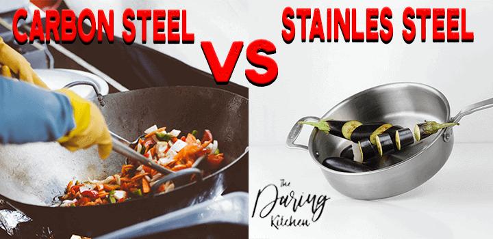 Carbon Steel vs Stainless Steel Pan
