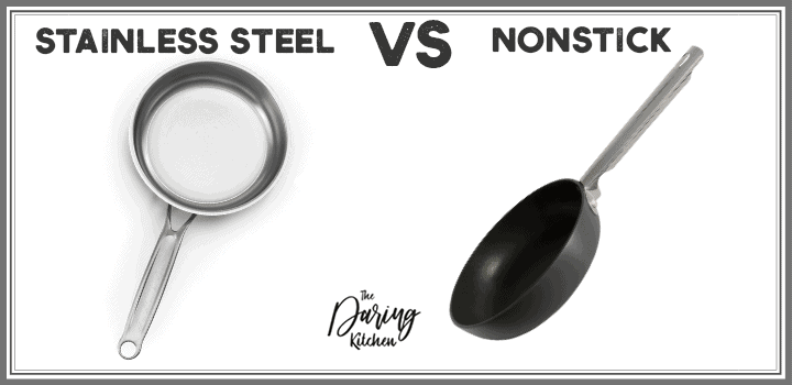 Stainless steel vs non stick