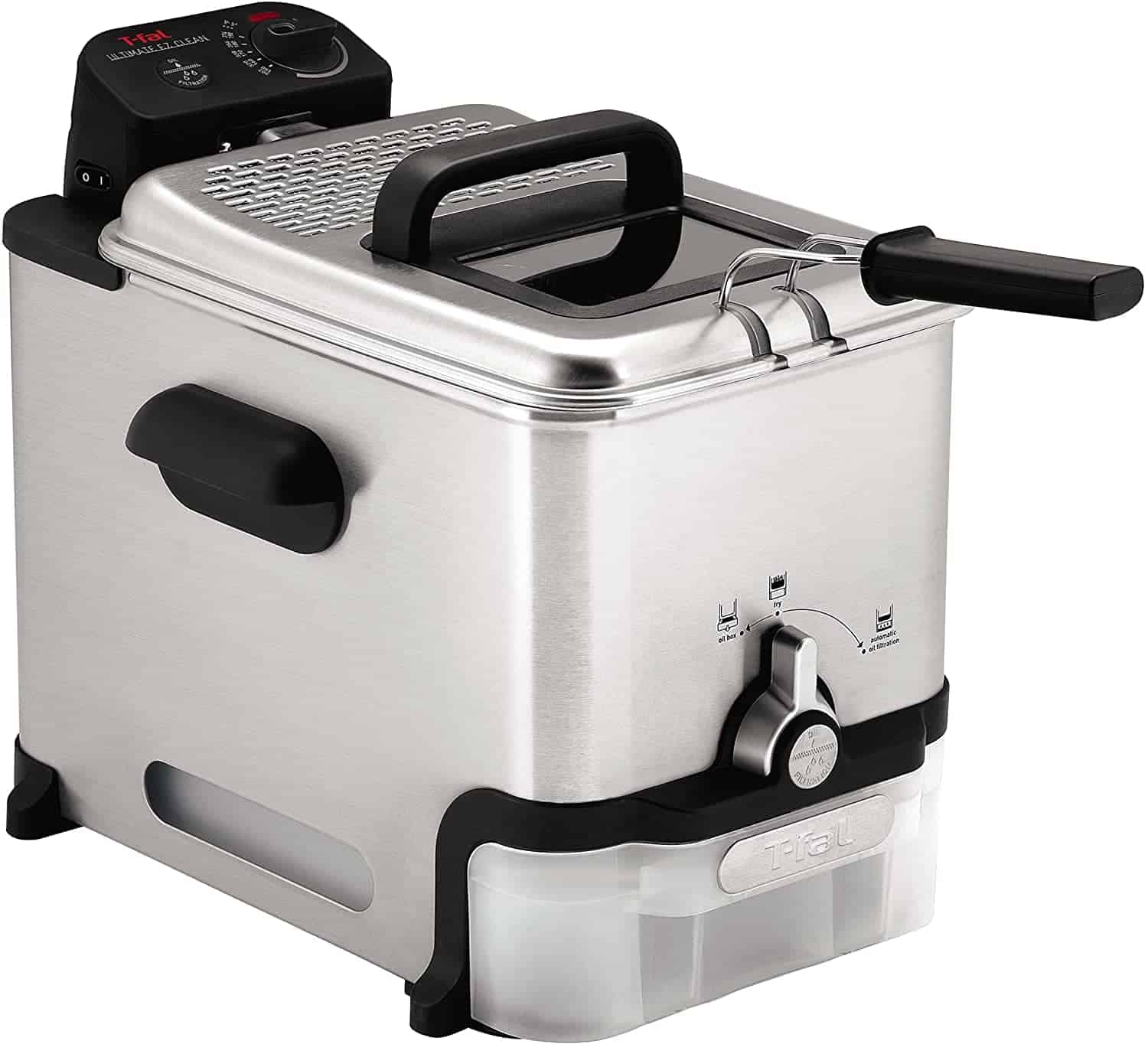 T-Fal Deep Fryer with Oil Filtration
