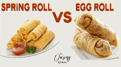 Spring Roll vs Egg Roll – What Is The Difference?