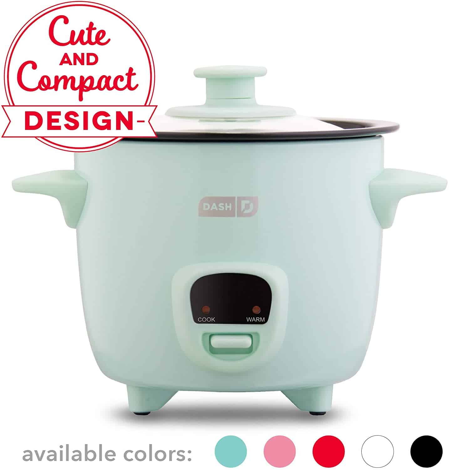 Dash DRCM Rice Cooker for One Person