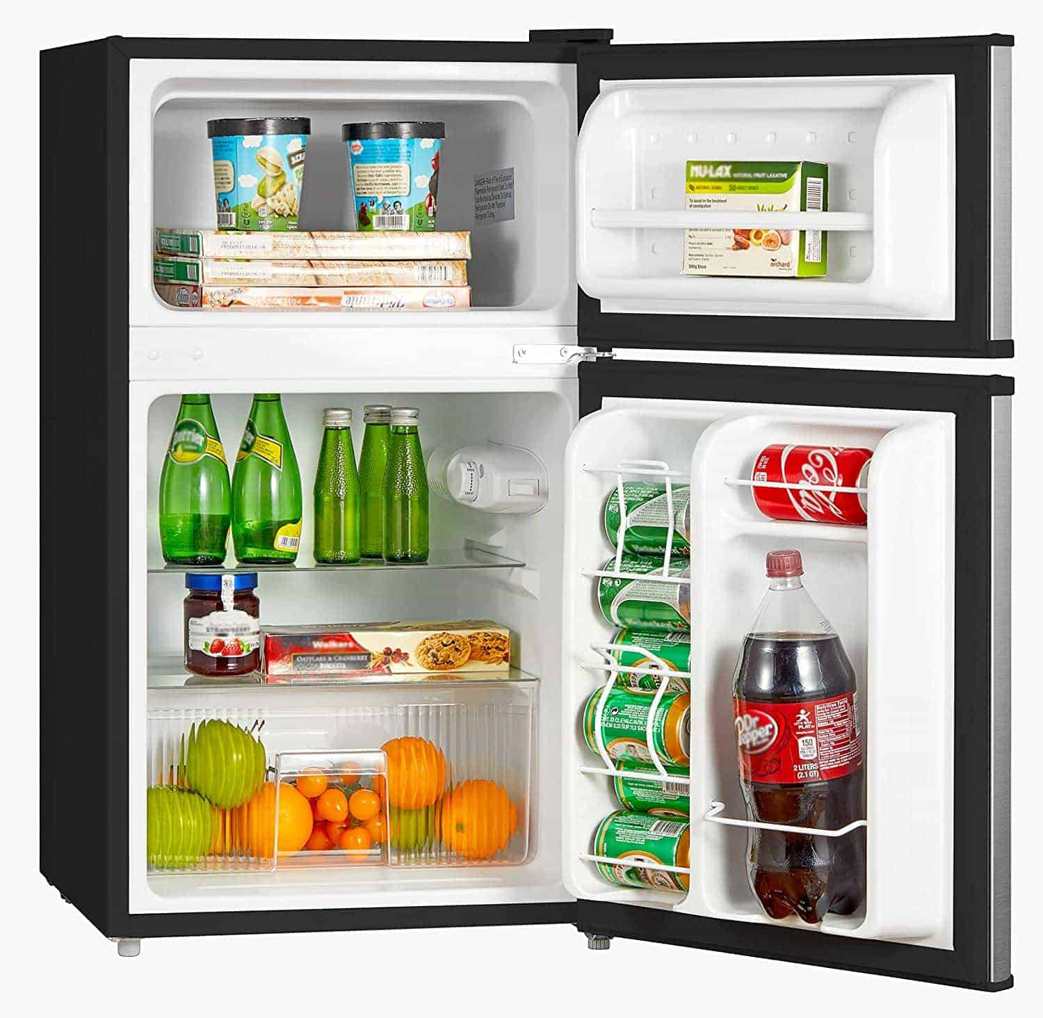 Midea WHD-113FSS1 Mini Fridge