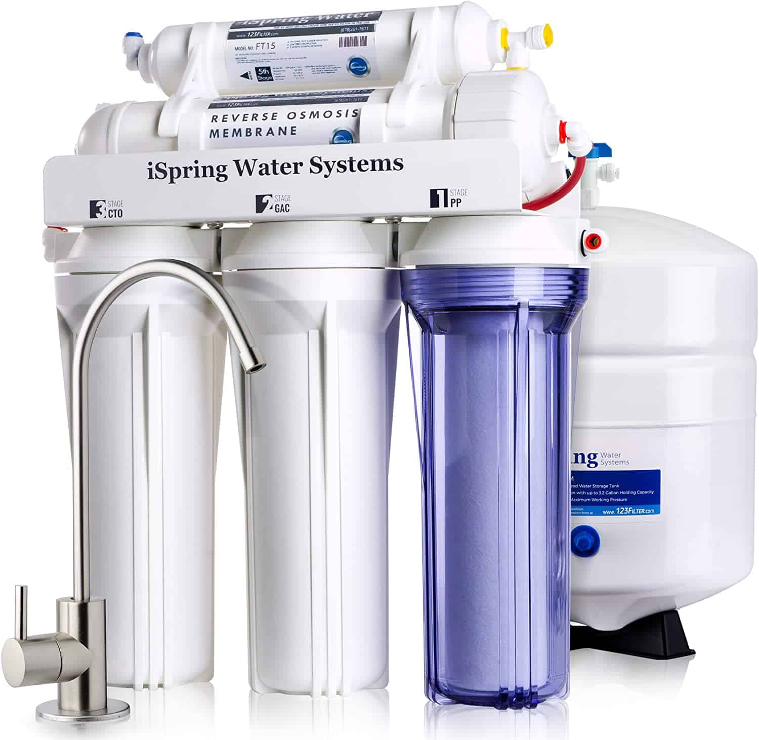 iSpring 5-Stage Prestige Drinking Water Filter