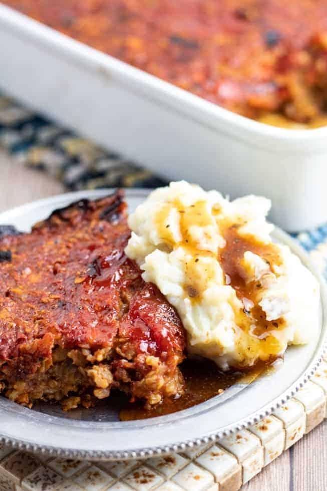 Homestyle Vegan Meatloaf