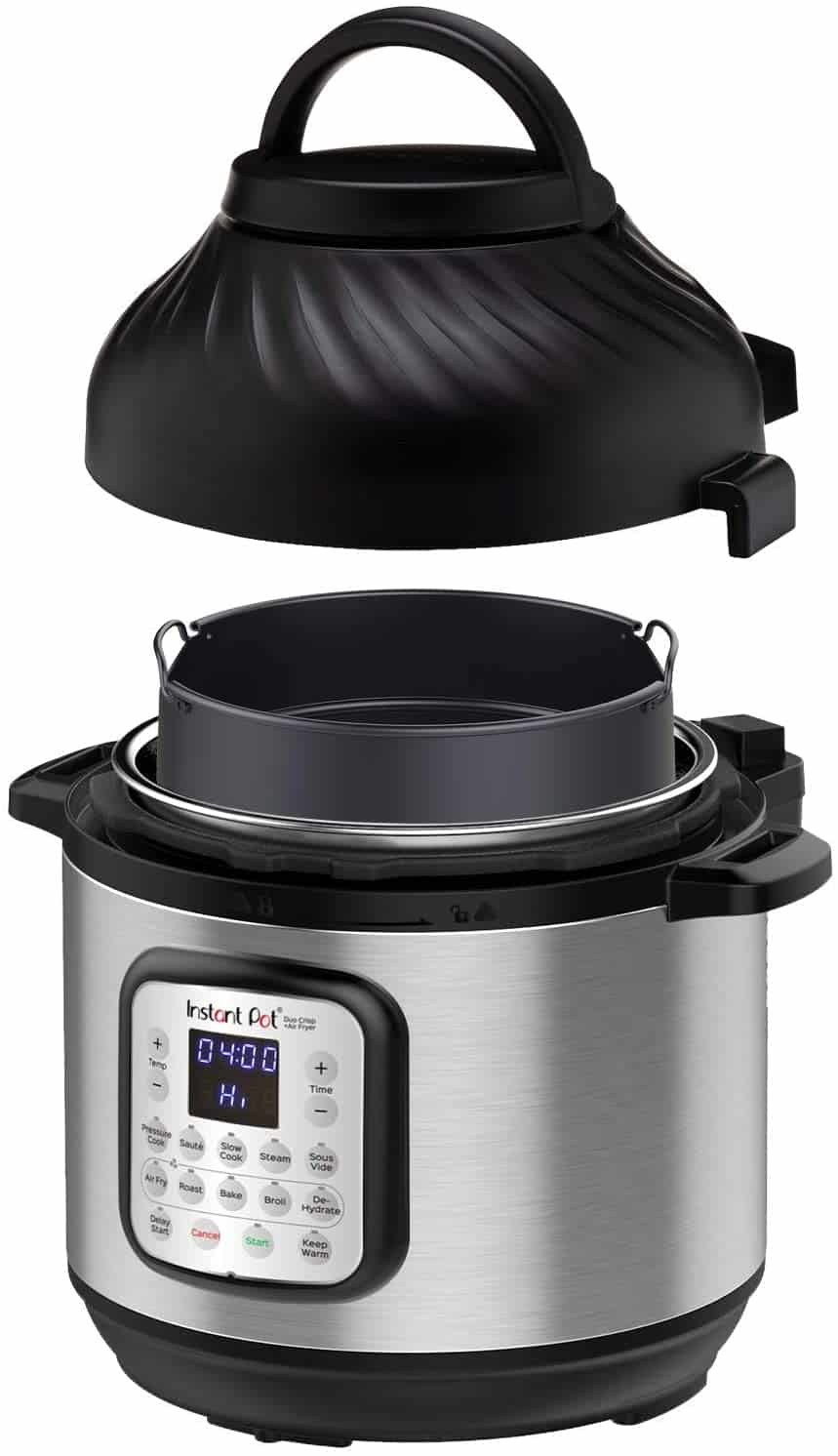 Instant Pot and Air Fyer Combination Model