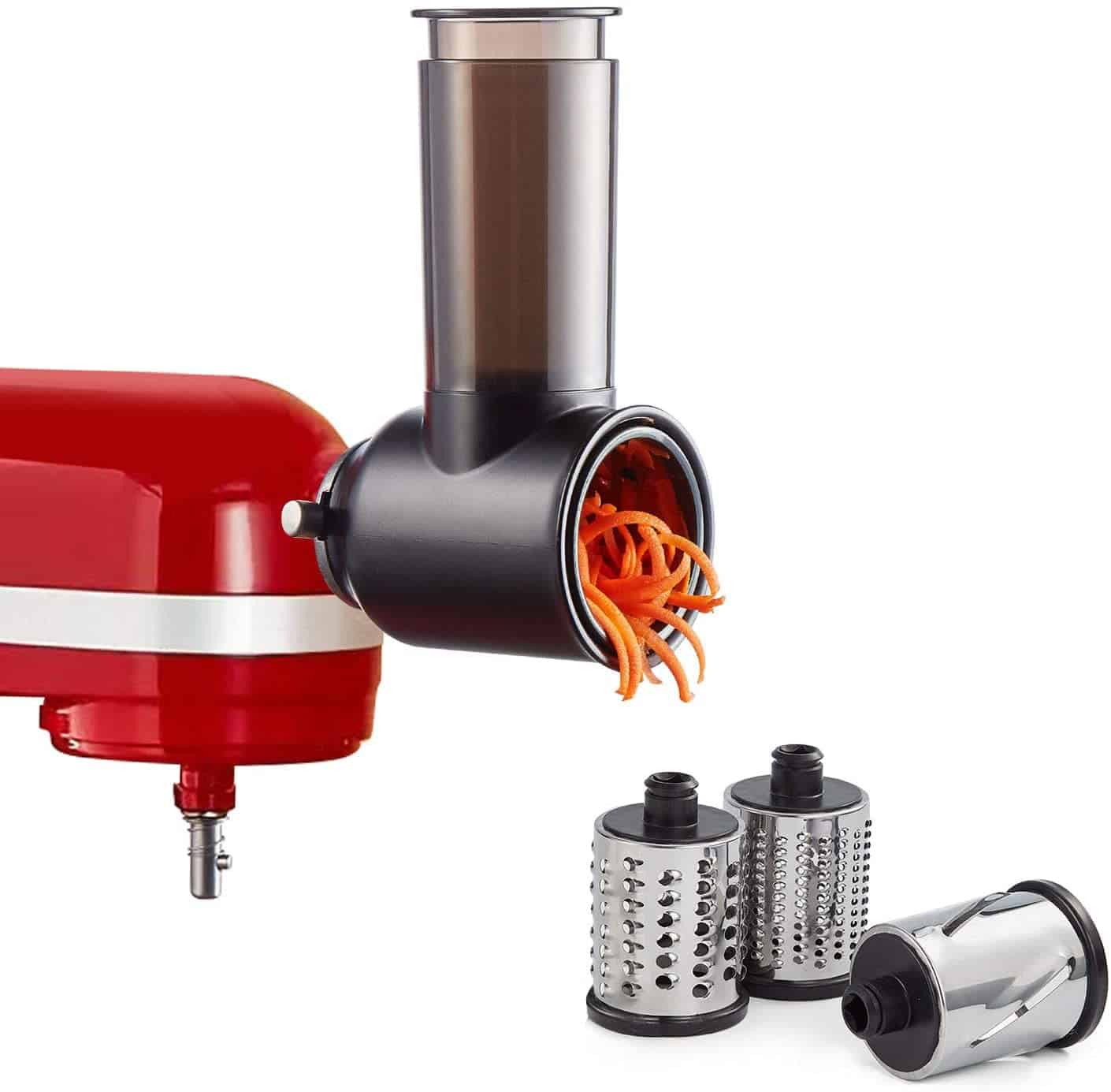 KitchenAid Slicer and Grater Attachment for Cheese and Vegetables