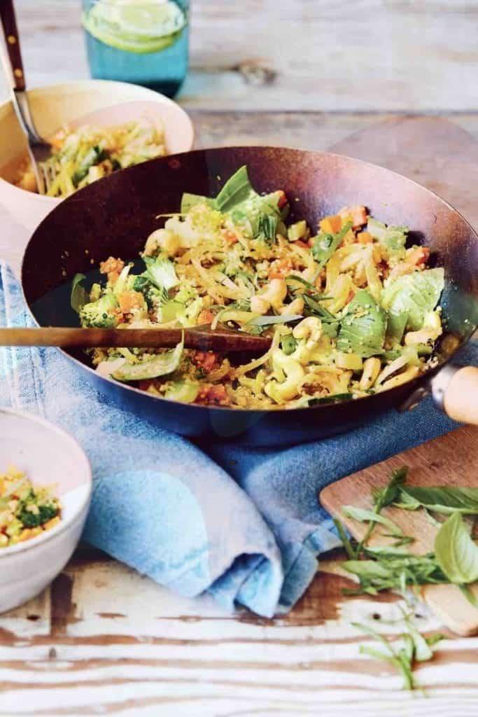 Cashew & Quinoa Stir-fry