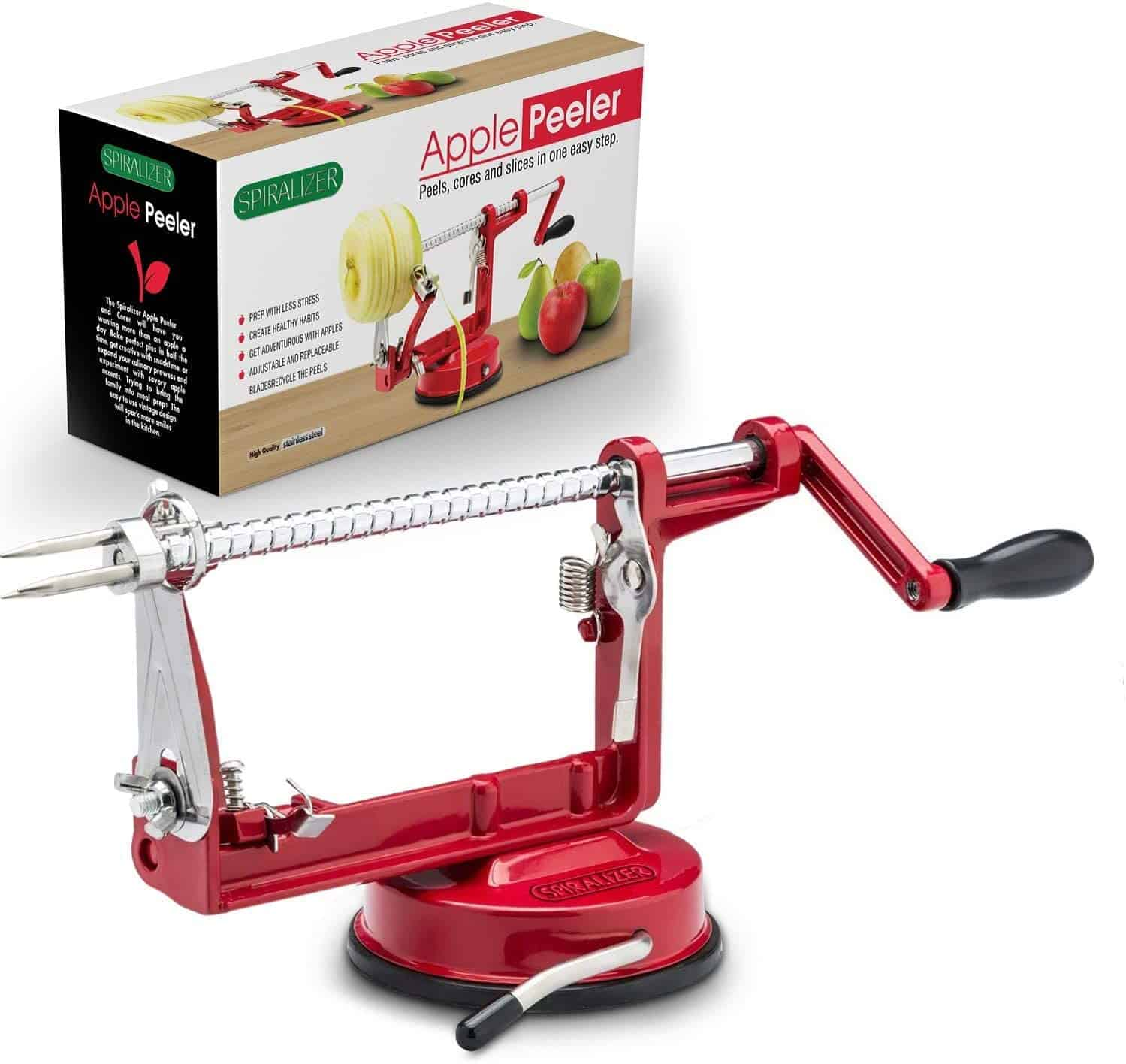 Cast Magnesium Spiralizer Potato and Apple Peeler