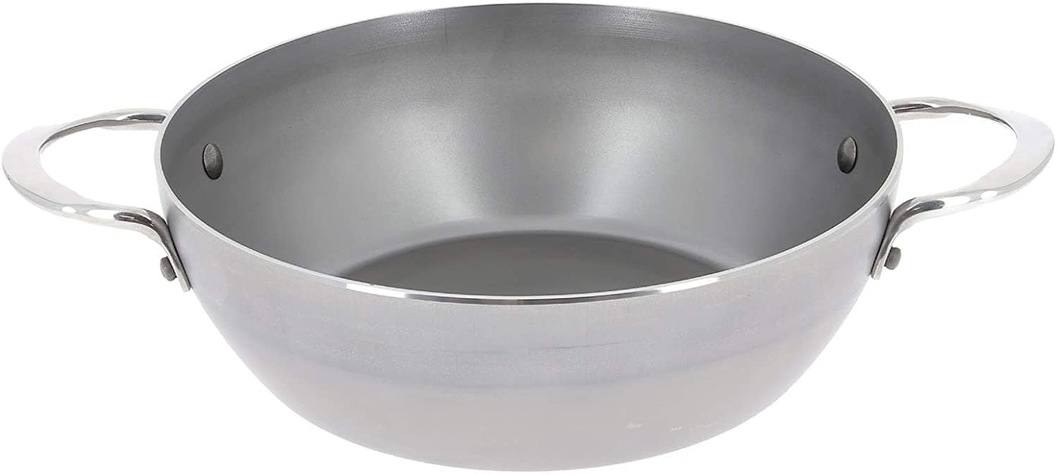De Buyer Mineral B 11-Inch Paella-Style Carbon Steel Pan