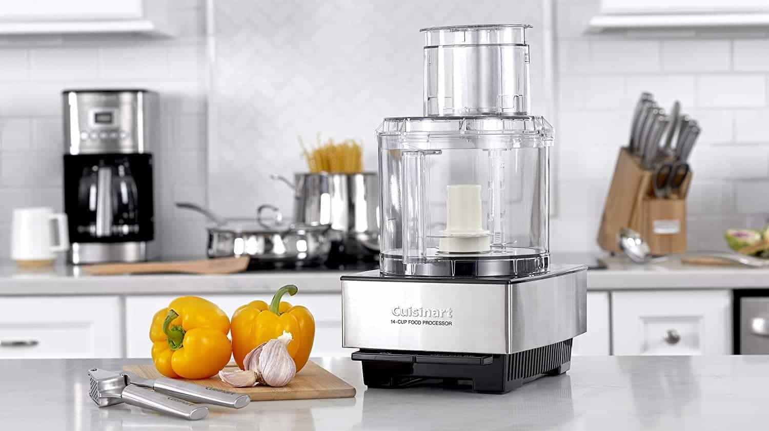 Food Processor on a Counter