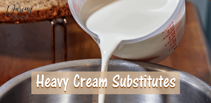 Heavy Cream Substitutes