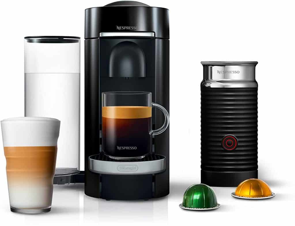 Nespresso by De'Longhi ENV155BAE VertuoPlus Deluxe Coffee and Espresso Machine
