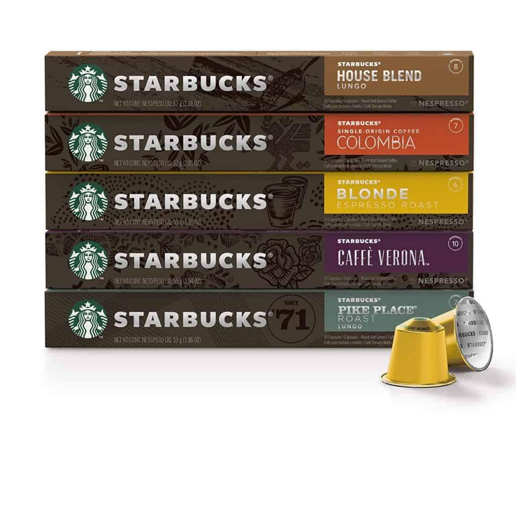 Starbucks by Nespresso, Favorites Variety Pack