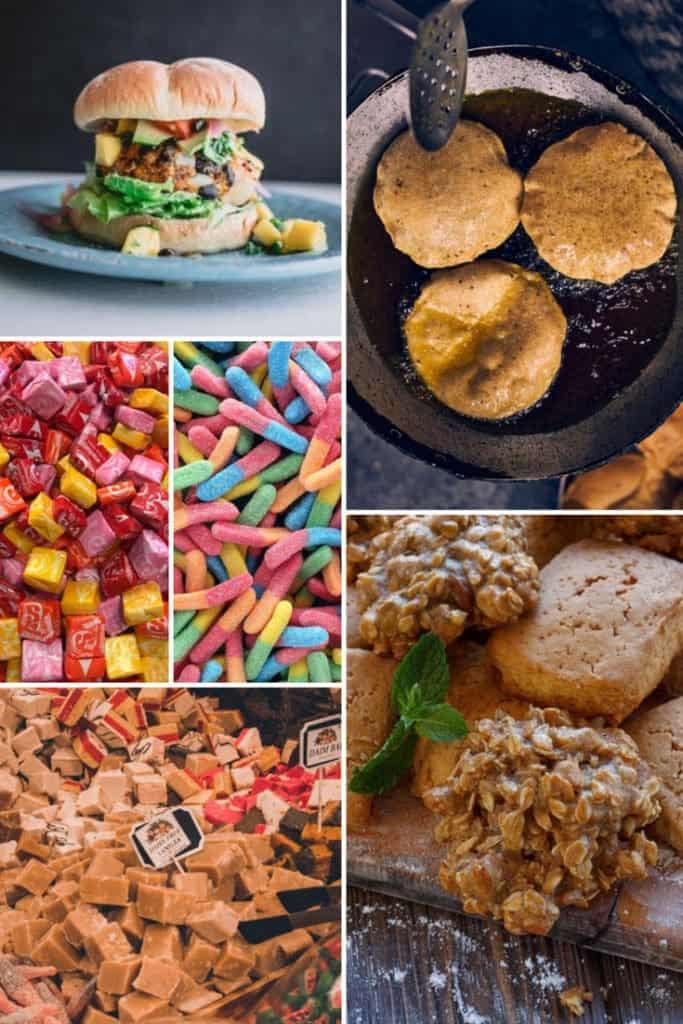 Unhealthy healthy food
