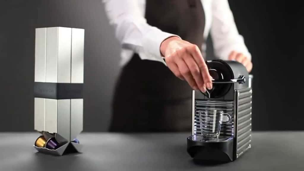 clean nespresso machine