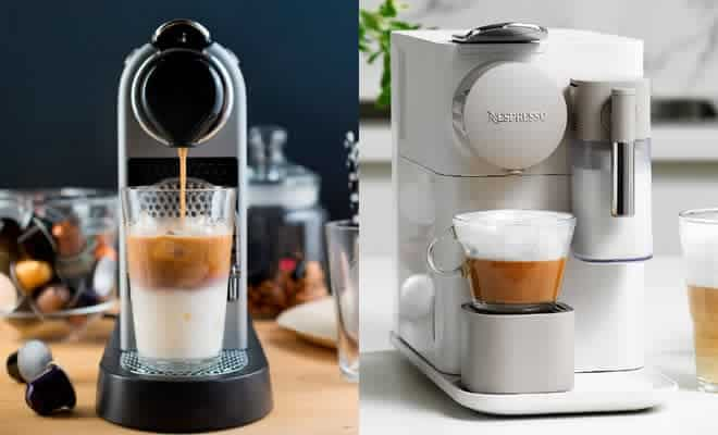 storing nespresso machines
