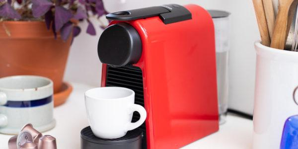 using a nespresso machine