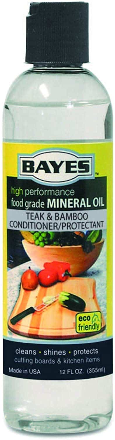 Bayes Mineral Oil for Wood and Bamboo