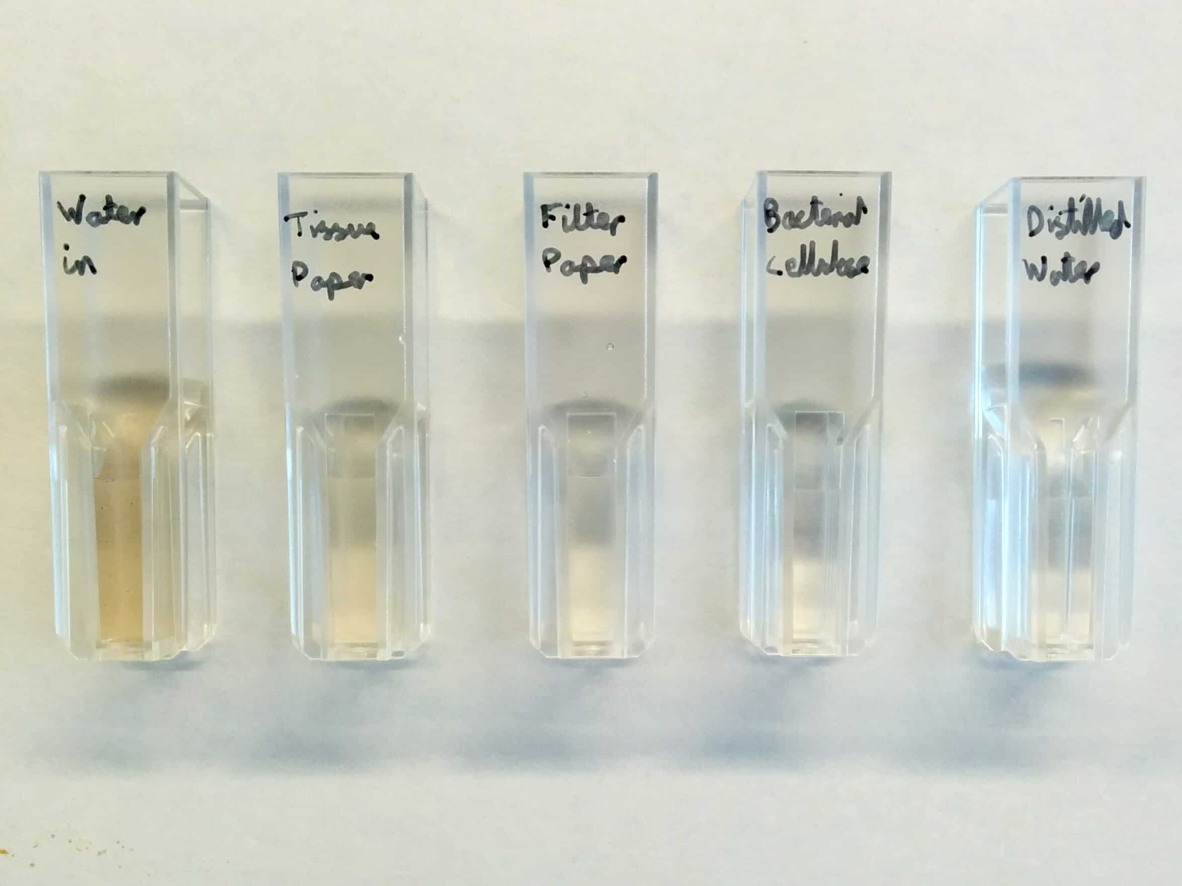 Different methods of filtering water