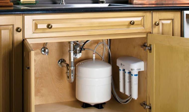 Under-Sink Reverse Osmosis water filter