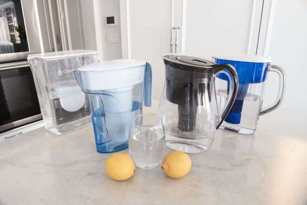 Water filters using carbon filter