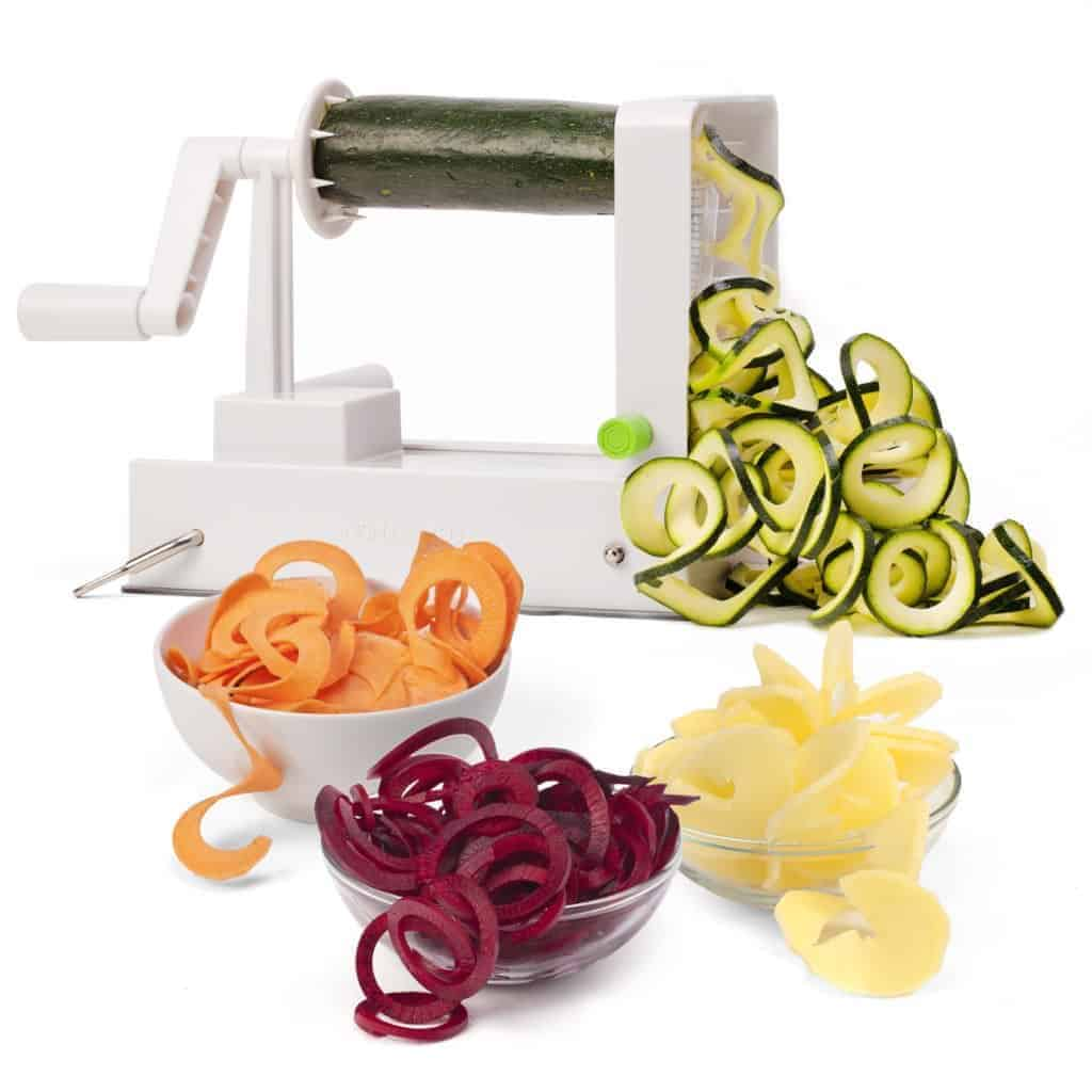 how to use spiralizer