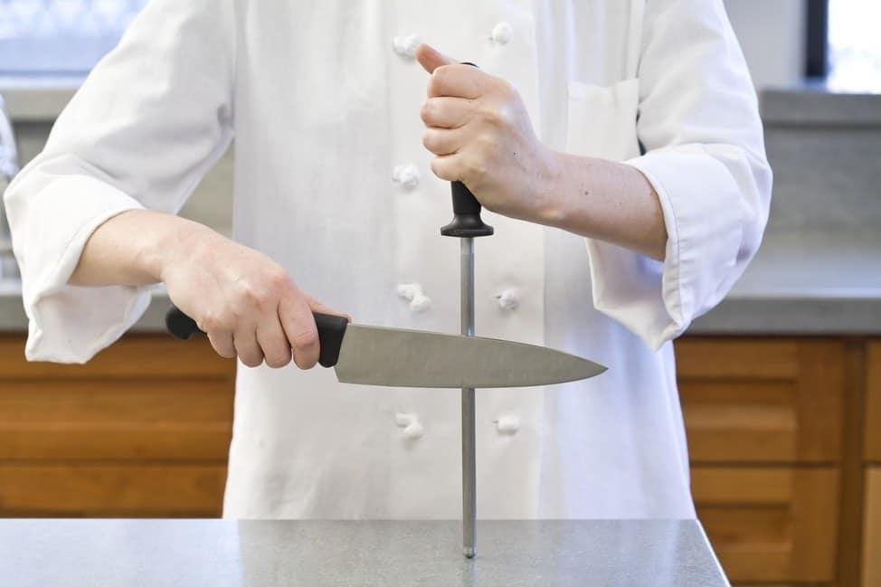 Using a Manual Knife Sharpener