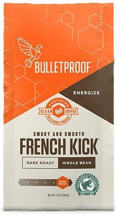 Bulletproof French Kick Dark Roast Whole Bean Coffee
