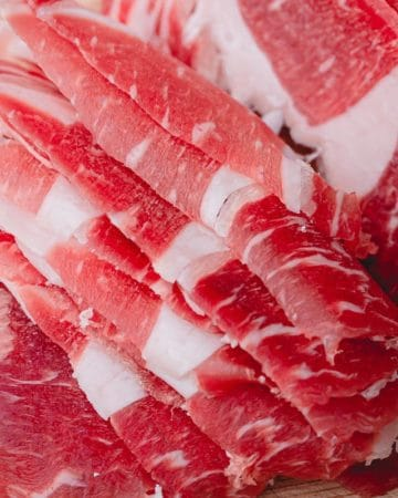 How to slice meat thin without a slicer