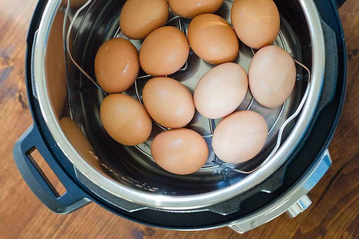 Instant Pot Hard-Boiled Eggs