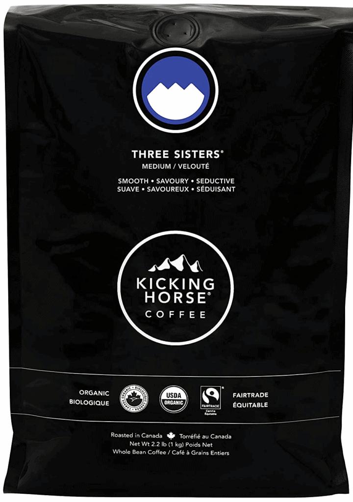 Kicking Horse Coffee Three Sisters Medium Roast Coffee Beans