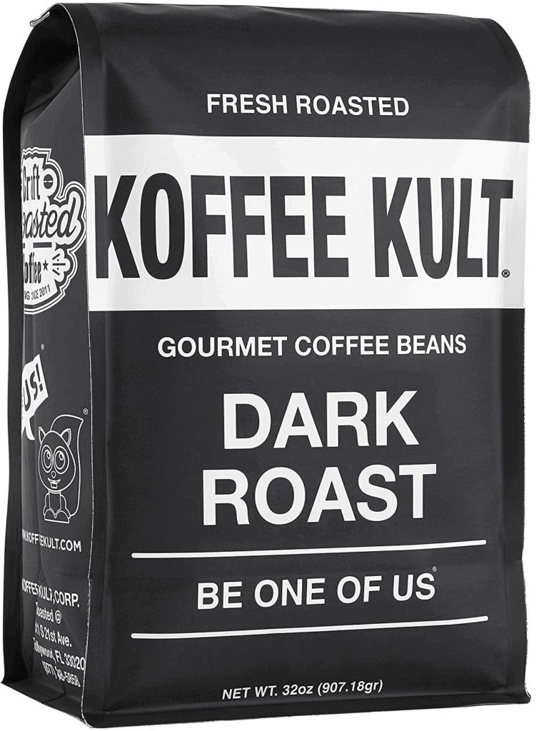 Koffee Kult Dark Roast Gourmet Coffee Beans