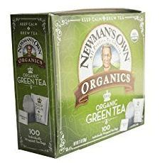 Newman's Own Organics Organic Green Tea
